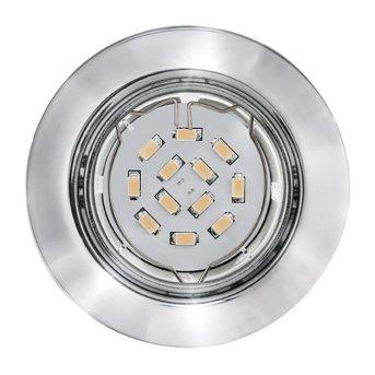 Eglo PENETO recessed light chrome, 3-light sources