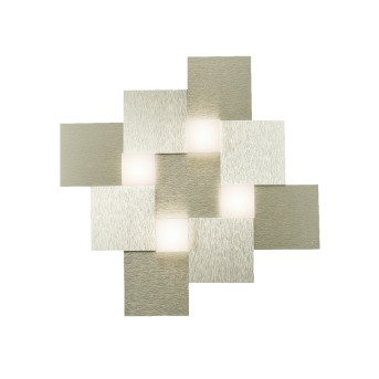 Grossmann CREO Ceiling Light LED champagne, 4-light sources