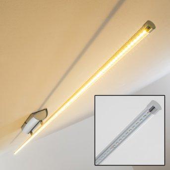 Slave ceiling light LED chrome, 1-light source